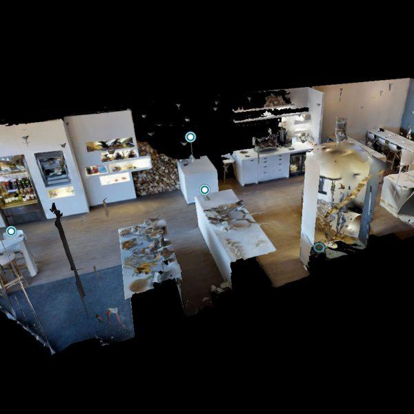 Restaurant in viertueller Form dank 3D Tour in Hamburg