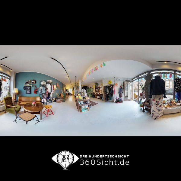 360 grad Tour für Hamburg. Einzelhandel in 3D aufnehmen
