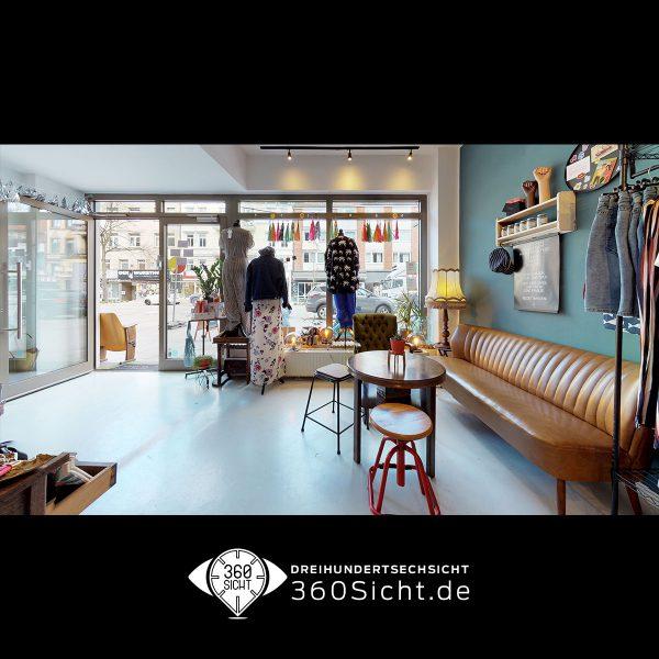 Einzelhandel mit 3D Rundgang aufwerten. Virtuelle Tour für Hamburg