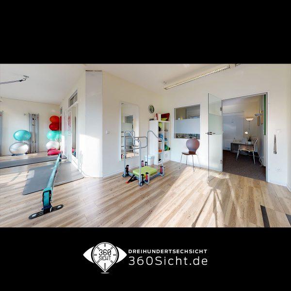 3D Tour für Physiopraxis in Hamburg