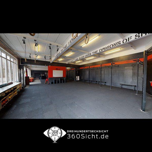 Fitnessräume als virtueller Rundgang für den Onlineauftritt