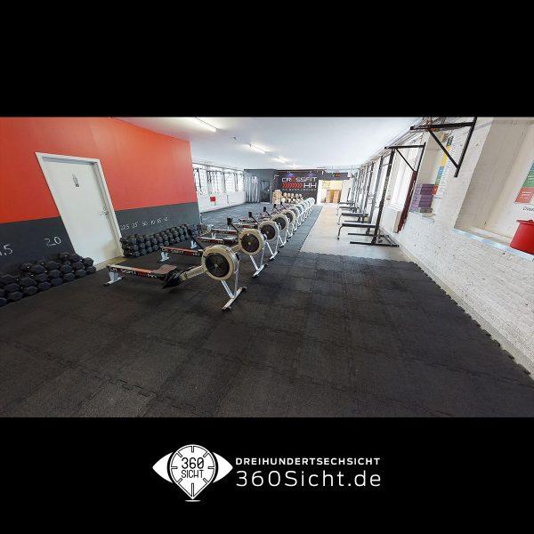 Sporträume als virtuelle 3D Tour für neue Mitglieder
