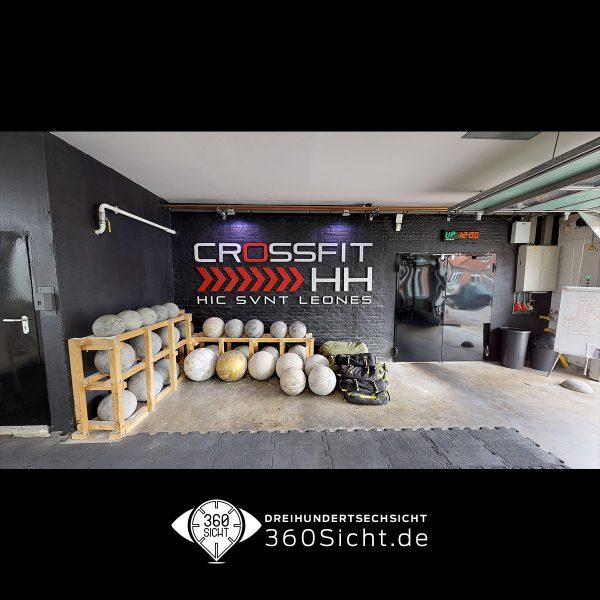 Crossfit in Hamburg in 3D umgesetz und virtuell gezeigt
